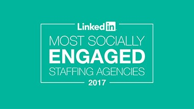 Top 25 Most Socially Engaged Linkedin