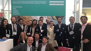 Robert Walters team en el World Business Forum Madrid 2018